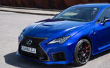 Lexus RC F with track pack 2019 first drive review - front end