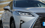 Lexus RX 450hL 2018 review headlights
