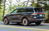 Lincoln Aviator 2020 first drive review - hero rear