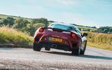 Lotus evora GT410 2020 UK first drive review - hero rear