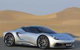 Lotus V6 Hybrid Esprit render 2020 - static front