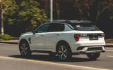 Lynk&Co 01 PHEV 2019 first drive review - hero rear