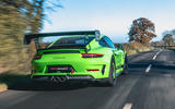 Manthey 911 GT3 RS MR 2020 first drive review - hero rear