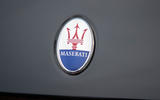 Maserati Levante GranSport V6 2018 first drive - bonnet badge