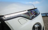 Maserati Levante Gransport 2018 UK first drive review headlights
