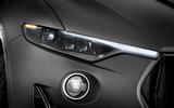 Maserati Levante Trofeo 2019 first drive review - headlights