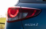 Mazda 2 Sport Nav 2020 UK first drive review - rear lights