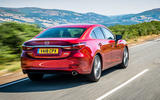 Mazda 6 2018 first drive review hero rear