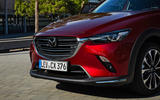 Mazda CX-3 2018 first drive review front bumper