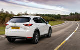 3 Mazda CX 5 2021 UK first drive review hero rear