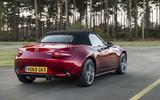 Mazda MX-5 2.0 Sport Tech 2020 UK first drive review - hero rear