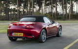 Autocar writers car of 2020 - Mazda MX 5 rear
