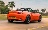 Mazda MX-5 30th Anniversary Edition 2019 UK first drive review - hero rear