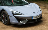 McLaren 570S Spider Track Pack 2018 UK review front end