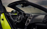McLaren 600LT Spider 2019 first drive review - cabin