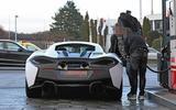 McLaren Sports Series Hybrid prototype rear far