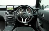 Mercedes-Benz A-Class dashboard