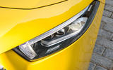 Mercedes-AMG A35 2018 first drive review - headlights