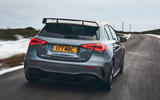 Mercedes-AMG A35 2019 UK first drive review - hero rear