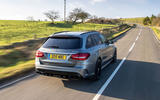 Mercedes-AMG C63 S Estate 2019 first drive review - hero rear