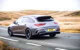 Mercedes-AMG CLA 35 Shooting Brake 2020 UK first drive review - hero rear