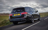 3 Mercedes AMG E52 2021 UK first drive review hero rear