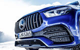 Mercedes-AMG GLE 53 2020 first drive review - front grille