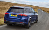 Mercedes-AMG GLE 53 2020 UK first drive review - hero rear