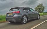 Mercedes-Benz A-Class A180 SE 2019 first drive review - hero rear