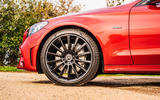Mercedes-Benz C300e 2020 UK first drive review - alloy wheels