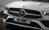 Mercedes-Benz CLA 250 2019 UK first drive review - front end