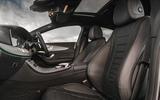 Mercedes-Benz CLS 450 2018 UK review cabin