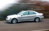 Mercedes-Benz E-Class - hero side