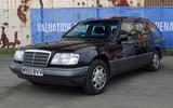 Mercedes-Benz E280 estate - static front