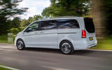 3 Mercedes Benz EQV 2021 LHD first drive review hero rear