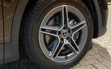 Mercedes-Benz GLA 220d 2020 UK first drive review - alloy wheels