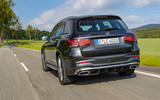 Mercedes-Benz GLC 300d 2019 first drive review - hero rear