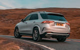 Mercedes-Benz GLE 2019 UK first drive review - hero rear
