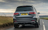 Mercedes-Benz GLS 400d 2019 UK first drive review - hero rear