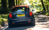 Mini JCW GP 2020 UK first drive review - hero rear