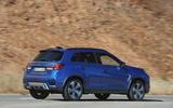 Mitsubishi ASX 2019 first drive review - hero rear