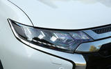Mitsubishi Outlander PHEV 2018 first drive review headlights