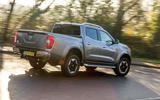 Nissan Navara 2020 UK first drive review - hero rear