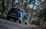 Peugeot 3008 Hybrid 2021 UK review - hero rear