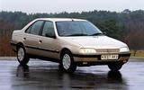 Peugeot 405 - static front