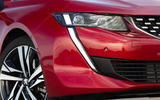Peugeot 508 2018 review headlights