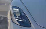 Porsche 718 Cayman GTS 2018 UK review headlights