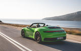 Porsche 911 Cabriolet 2019 first drive review - hero rear