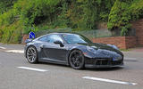2020 Porsche 911 GT3 spotted testing front right