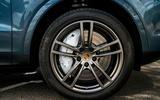 Porsche Cayenne 2018 UK first drive review alloy wheels